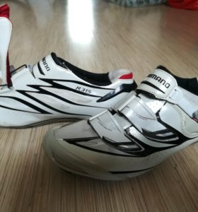 Велотуфли Shimano R315