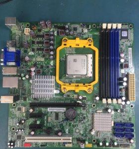 Материнская плата AM3 с 4-ядерным процессором