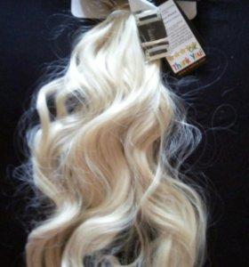 Волосы на типах Термоволокно