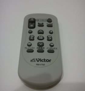 Пульт д. у для видеокамер JVC (модель rm-v750)