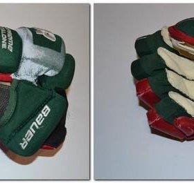 Ремонт хоккейных перчаток (краг)