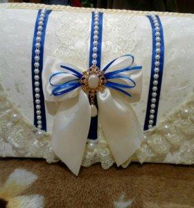 Коробочка на свадьбу для конвертов