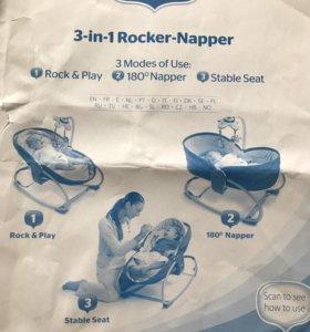 кресло-качели детей от рождения до четырех лет