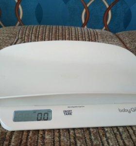 Электронные весы для новорожденных до 20кг