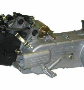 Двигатель в сборе 4Т 157QMJ (GY6) 149,5см3