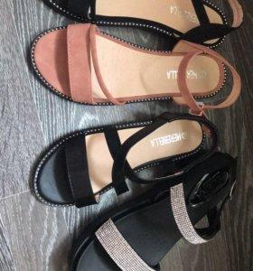 Летние сандали. 4 модели. Все размеры