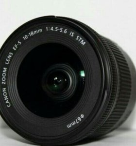 Canon EF-S 10-18mm f/4.55.6 IS STM
