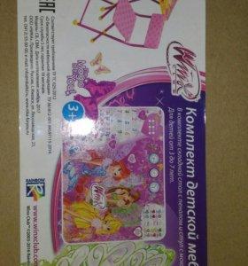 Комплект детской мебели для девочки