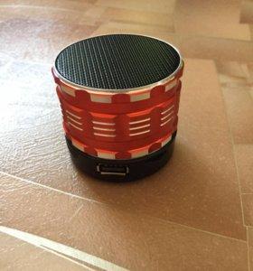 Мини Bluetooth колонка (красная)