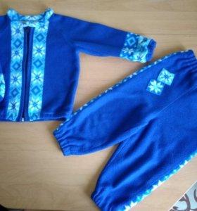 Флисовый костюм-поддева