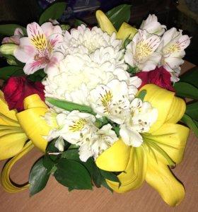 Корзины цветов на любой вкус!