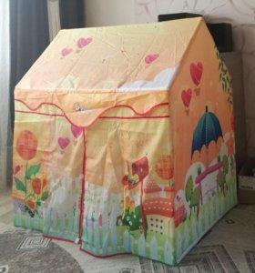 Детский дом на каркасе