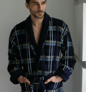 Мужской классический халат