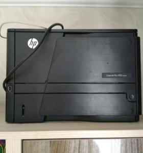 Принтер HP LazerJet Pro 400 M401 dn