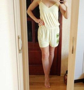 Новое платье- комбинезон M