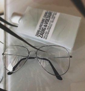 Очки для имиджа, унисекс
