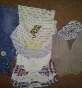 Пакет одежды для мальчика 68-74 рост