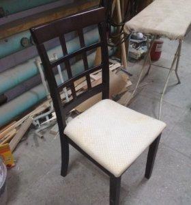 Перетяжка табуретов, стульев, скамеек и лавочек