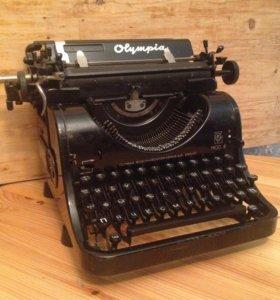 Печатная машинка Olympia mod.8