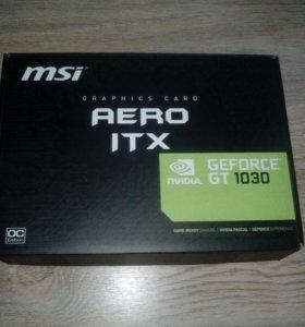 Видеокарта MSI GeForce GT 1030 aero ITX OC