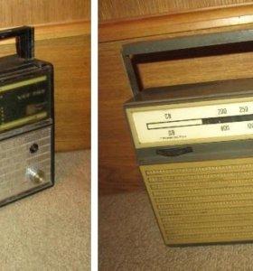 Радиоприемник VEF 202 и Альпинист 405