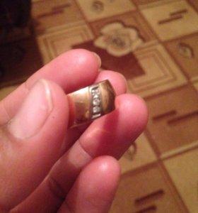 Золотое обручальное кольцо ссср