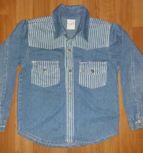 Рубашка джинсовая на мальчика