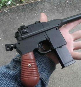 Пистолет игрушечный металический
