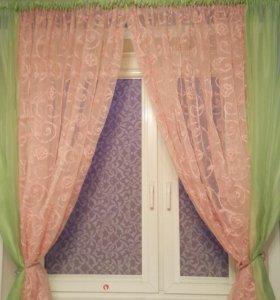 Тюль в комнату или на кухню
