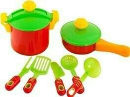 Посуда ЕВА 7 предметов (KINDER WAY) Цена: 290