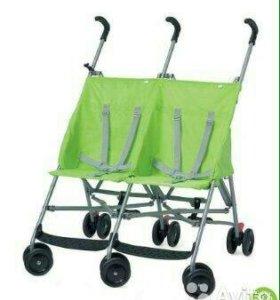 коляска для двойни mothercare трость