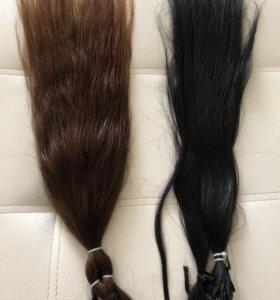 Капсульное наращ! Волосы 2 корр! 70 см