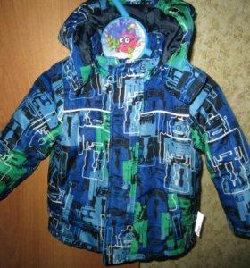 Куртка демисезонная р.80