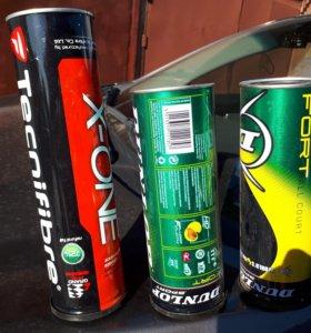 Теннисные мячи Tecnifibre Babolat Dunlop