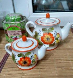 Чайники для заварки.