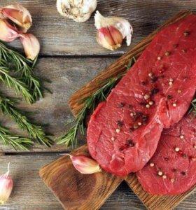 Мясо, полутуши:свинина,говядина,баранина