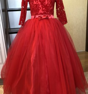 Новое праздничное платье