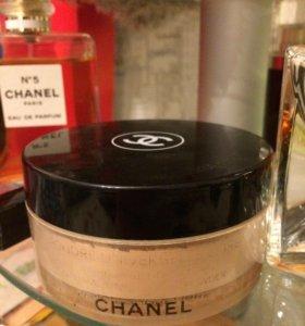 Пудра Chanel рассыпчатая с пуховкой + подарок
