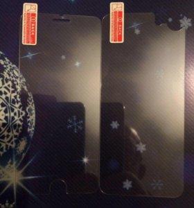 Защитные стекла для Iphone 7,7s, 6,6s