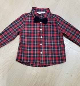 Рубашка с бабочкой H&M
