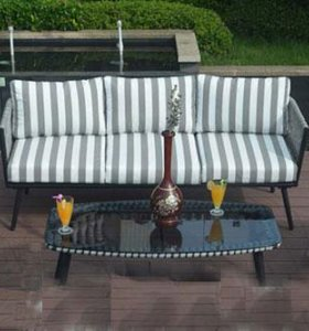 """Комплект дачной мебели """"давиль"""" диван и кресла"""