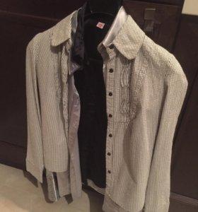 Блузка, рубашка, одежда женская, безрукавка 42 44