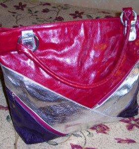 Женская сумка новая швг 40*35*13 см