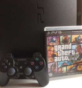 PlayStation 3 slim 1 DualShock+GTA5