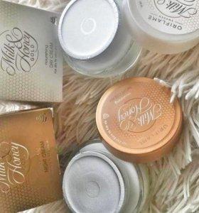 Питательный дневной крем Молоко и мед