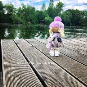 Интерьерная кукла 26 см рост
