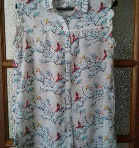 Рубашка для беременяшки р. 46-48