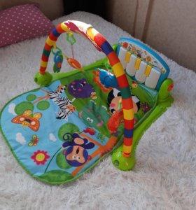 Развивающий коврик с пианино Lorelli Toys
