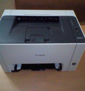 Цветной принтер и сканер Canon