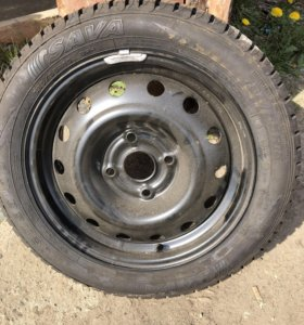 Резина на диске 185/55/15 на запаску